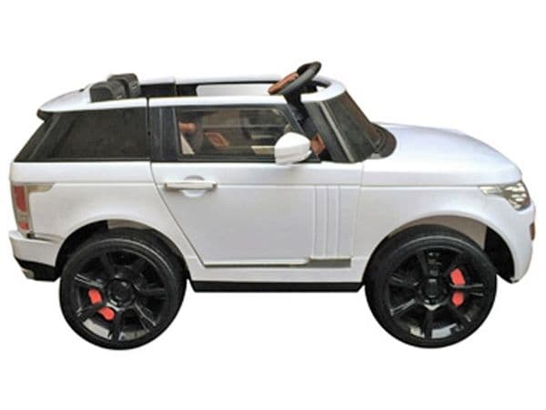 TOYANDMODELSTORE:  12v electric motorised ride-in Range Rover car jeep style ride-on toys for kids uk sit-on toy cars with radio control